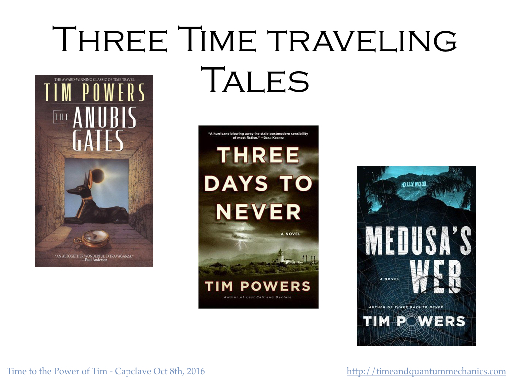 Three Time Travel Tales by Tim Powers